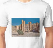 Temenos Gate on the Collonaded Street Unisex T-Shirt