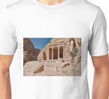 Garden Temple in nabataean ancient town Petra Unisex T-Shirt