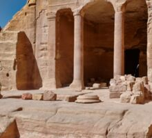 Garden Temple in nabataean ancient town Petra Sticker