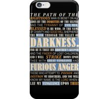 Pulp Fiction: Ezekiel 25:17 iPhone Case/Skin