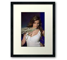 Latin Beauty : Charity Fashion Show Framed Print