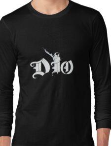 Ronnie James Dio Logo Long Sleeve T-Shirt