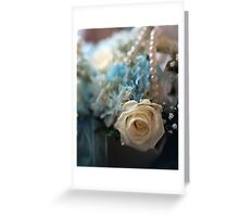wedding flowers 2 Greeting Card