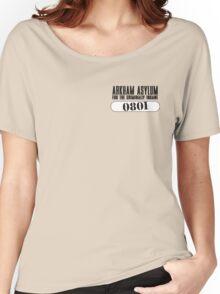 Asylum Inmate #0801 aka Joker's uniform Women's Relaxed Fit T-Shirt