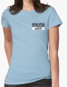 Asylum Inmate #0801 aka Joker's uniform Womens Fitted T-Shirt