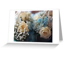 wedding flowers 4 Greeting Card