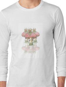 Dainty Fairies Sat on Toadstools Long Sleeve T-Shirt