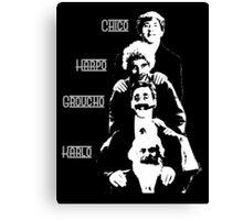 Communist Marx Brothers - Dark background Canvas Print