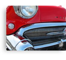 1957 Buick Century in Red Canvas Print