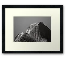 Climbers On Half Dome Framed Print