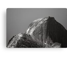 Climbers On Half Dome Canvas Print