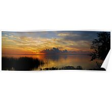 Sunset Panorama 2527-30 Poster