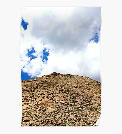 Mt Crested Butte Summit Poster