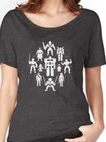 Plastic Heroes (w/Triangles) Women's Relaxed Fit T-Shirt