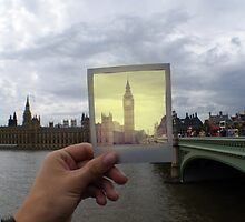 Polaroid Big Ben by Tom Bosley