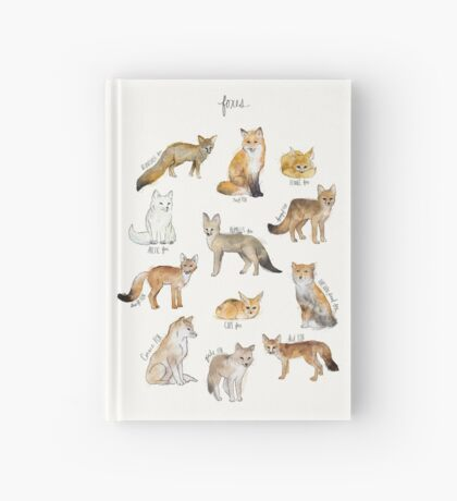 Foxes Hardcover Journal