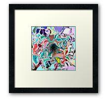 ( BULL ) ERIC  WHITEMAN ART   Framed Print