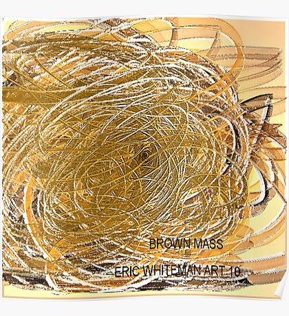 ( BROWN  MASS ) ERIC  WHITEMAN Art Poster