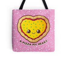 A Pizza My Heart [Pink] Tote Bag