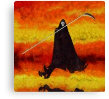 Grim Reaper by Sarah Kirk Canvas Print