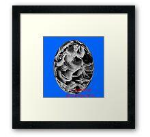 ( BLACK PLANET )   ERIC WHITEMAN  ART  Framed Print