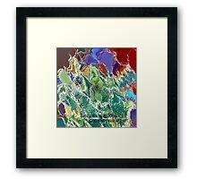 ( BIANCA  IS A   CELESTIAL  MAIDEN  )  ERIC WHITEMAN  ART  Framed Print
