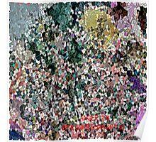 ( ANGER 101 )   ERIC  WHITEMAN ART  Poster
