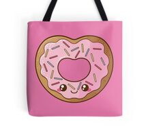 Heart Donut Tote Bag