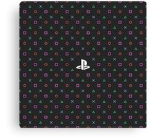 Playstation Pattern Canvas Print