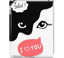 Cats' sides iPad Case/Skin