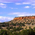 New Mexico Cliffs by Monica Vanzant