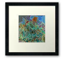 ( SCREW UP )  ERIC WHITEMAN  ART   Framed Print