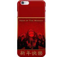Chinese New Year 2016 - Monkey Year  iPhone Case/Skin