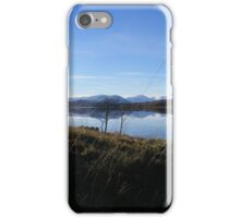 Reflections on Loch Tulla iPhone Case/Skin