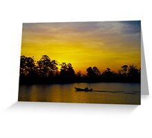 Sunrise over Urbanna Greeting Card