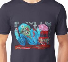 Zombie Brain Surgeon Unisex T-Shirt