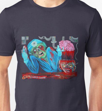 Zombie Brain Surgeon Unisex T-Shirt