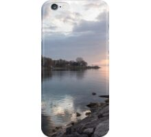 Limpid - Crystal Clear Peaceful Waterfront Sunrise iPhone Case/Skin