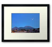 The Mighty Vesuvius Framed Print