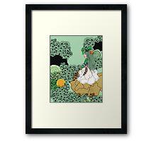 Alone In Kyoto Framed Print