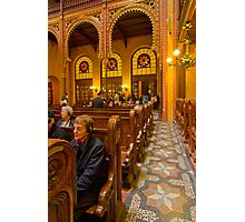 The Great Synagogue, Pest, 41 Photographic Print