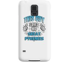This guy loves his Great Pyrenees Samsung Galaxy Case/Skin