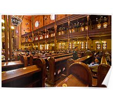 The Great Synagogue, Pest, 43 Poster