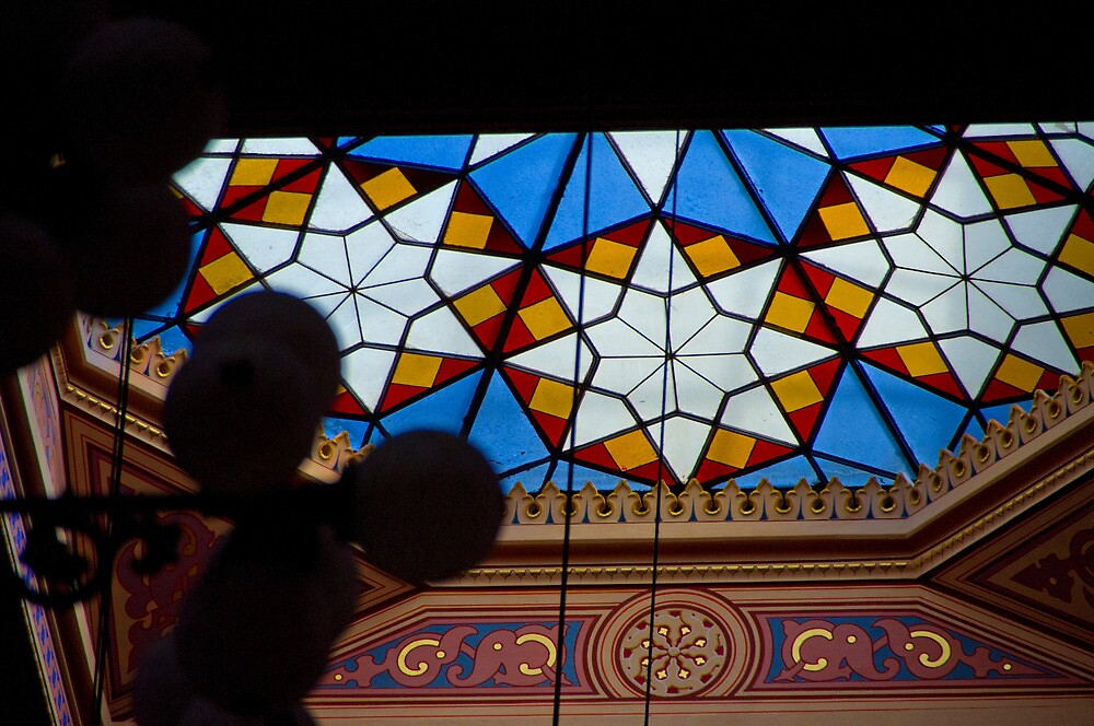 The Great Synagogue, Pest, 50 by Priscilla Turner