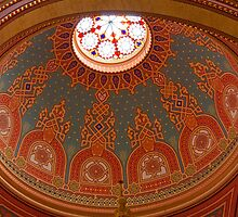 The Great Synagogue, Pest, 53 by Priscilla Turner