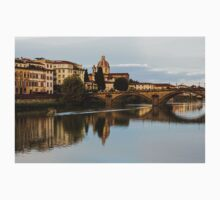 Impressions Of Florence – Ponte Santa Trinita Boating One Piece - Long Sleeve