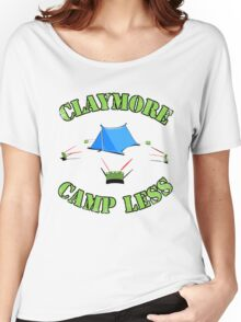 Claymore, camp less. Women's Relaxed Fit T-Shirt