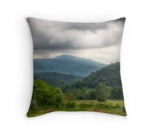 Storm Coming! Throw Pillow