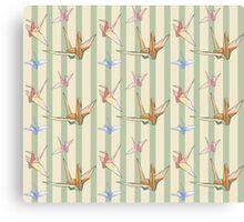 Paper cranes 3 Canvas Print