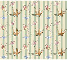 Paper cranes 3 Photographic Print